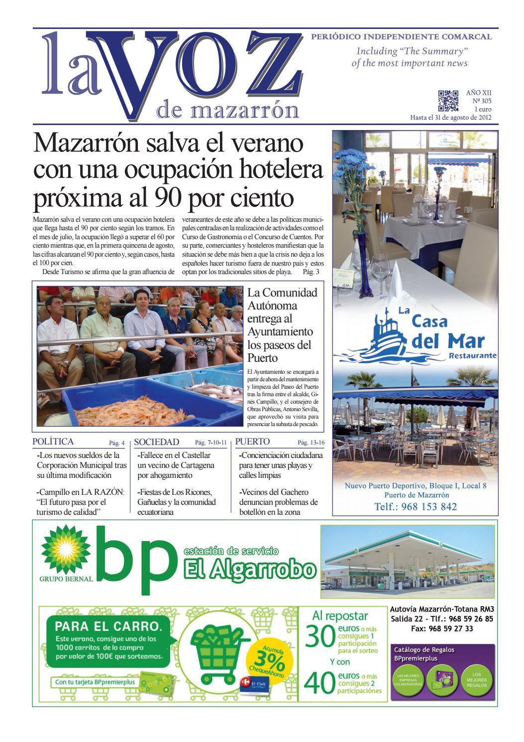 Voz305 by La Voz de Mazarrón (Periódico) - issuu