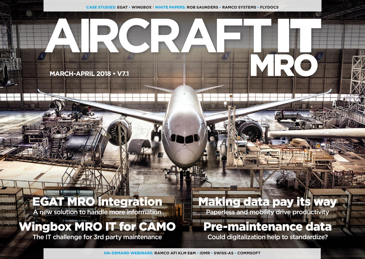 Aircraft It Mro V71 March April 2018 By Aircraftit Issuu