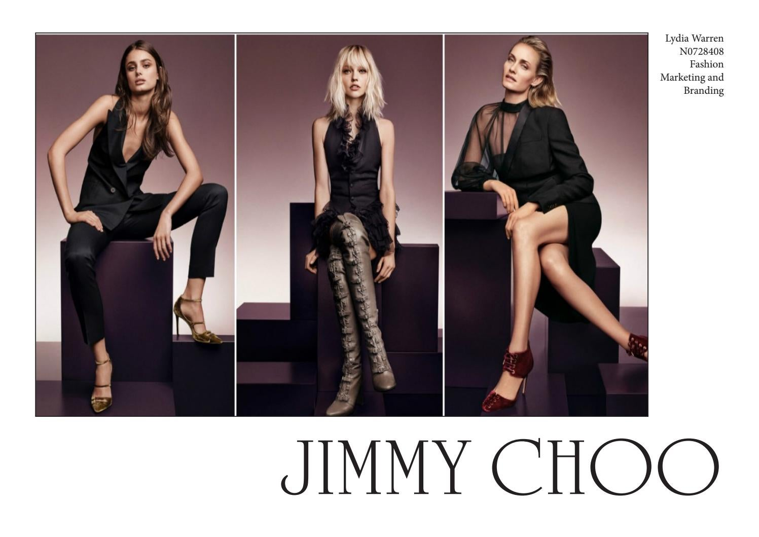 258f21a2a6 Jimmy Choo Situational Analysis by lydiawarren - issuu