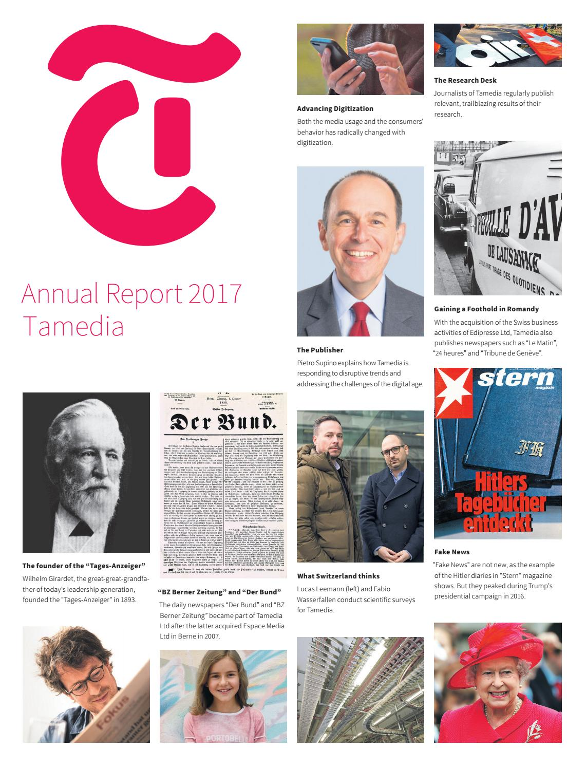 tamedia annual report 2017 by tamedia issuu  grose lehrlingsoffensive auf joinvision com #6
