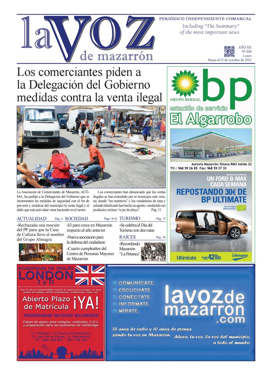 Voz308 by La Voz de Mazarrón (Periódico) - issuu af9d0c6b2058