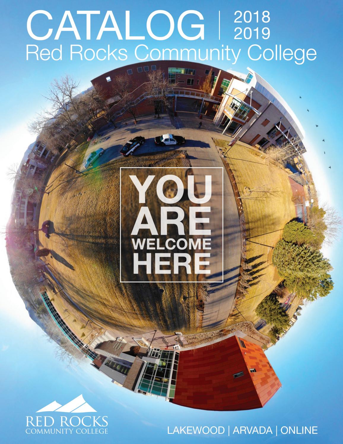 RRCC 18-19 Catalog by Red Rocks Community College - issuu
