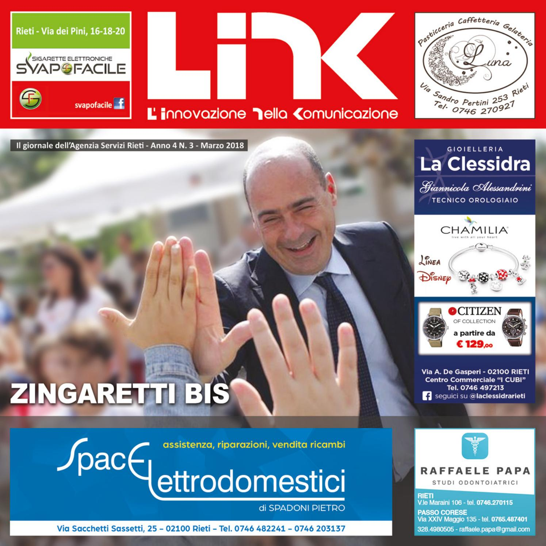 5ed6b0b50b954f LINK MARZO 2018 - Anno 4 N.3 by Agenzia Servizi Rieti - issuu