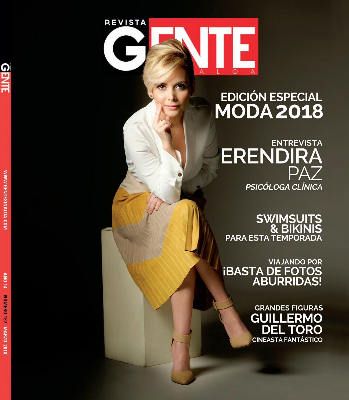 Anel Rodríguez Desnuda revista gente sinaloa edición marzo 2018revista gente