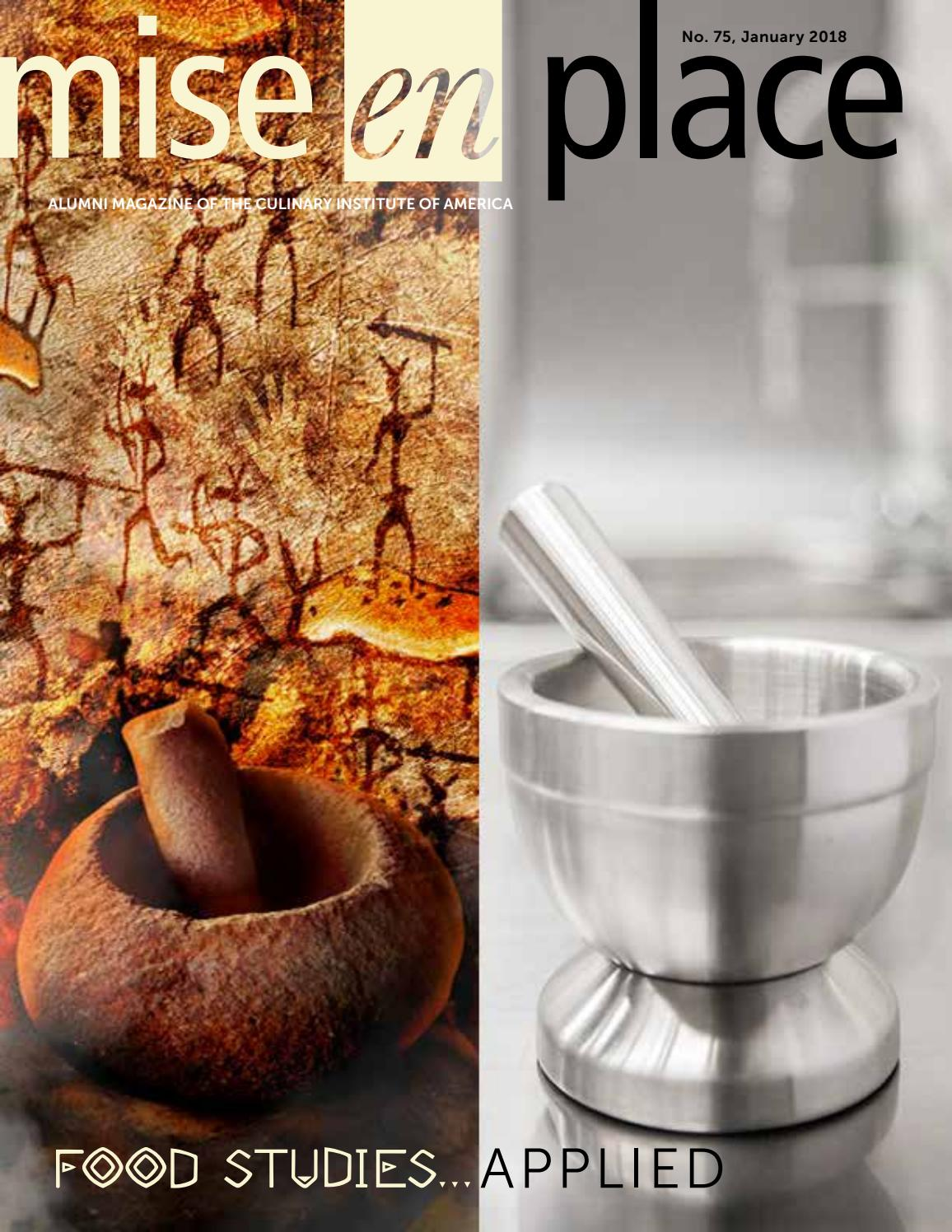 Mise En Place Design mise en place 75 food studies applied by the culinary