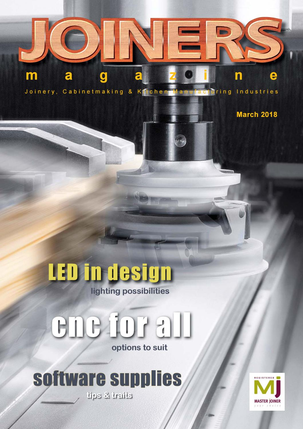 4569f8866f10 Joiners Magazine March 2018 by Magenta Publishing - issuu