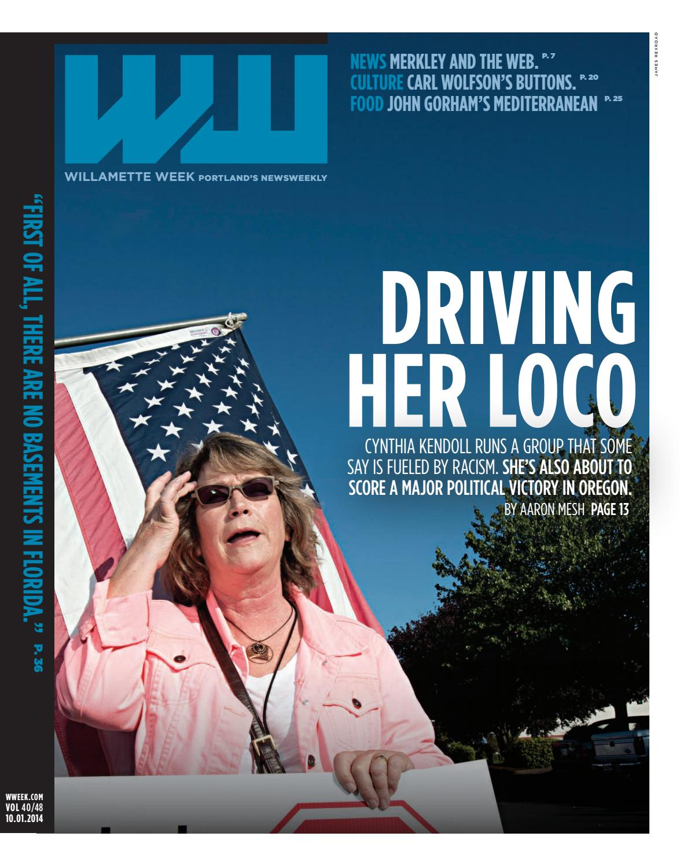 40 48 willamette week, october 1, 2014 by Willamette Week Newspaper ...
