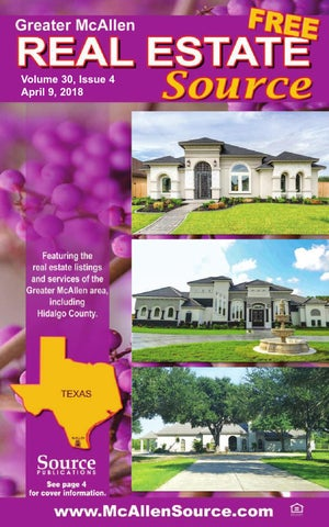 McAllen Real Estate Source Volume 30, Publications Issue 4 by Source Publications 30, 59096a