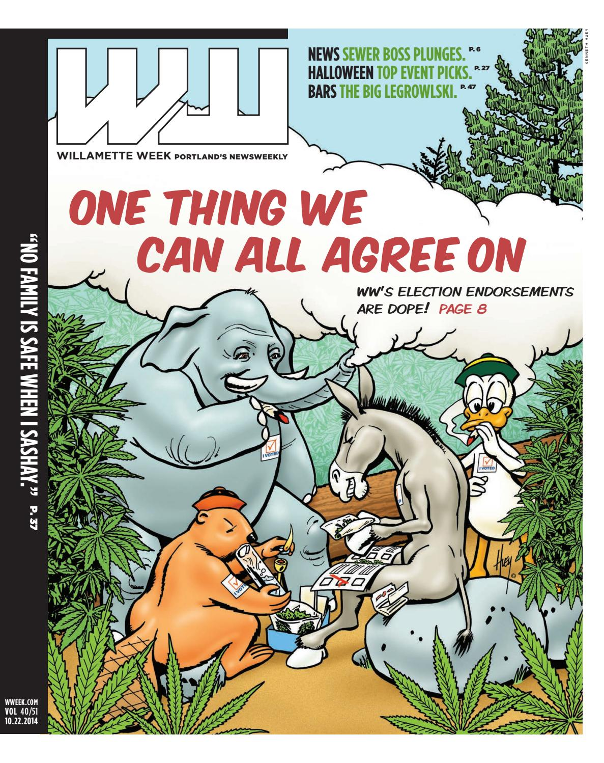40 51 willamette week, october 22, 2014 by Willamette Week Newspaper ...