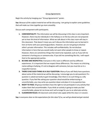 Group Agreements By Centerstone Issuu