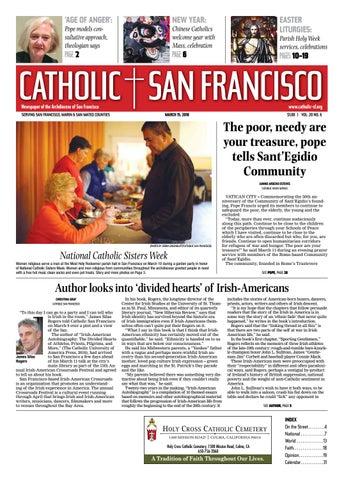 de8150d9 March 15, 2018 by Catholic San Francisco - issuu