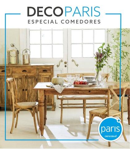 Deco paris especial comedores by paris issuu for Comedores almacenes paris