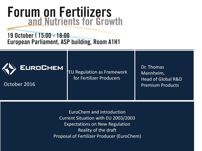 Thomas mannheim eurochem by Fertilizers Europe - issuu