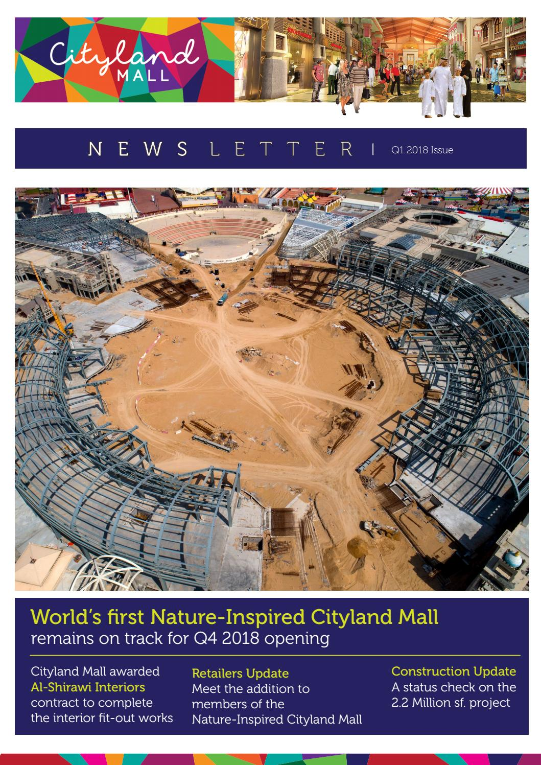 Newsletter Q1 2018 Issue By Cityland Group Issuu