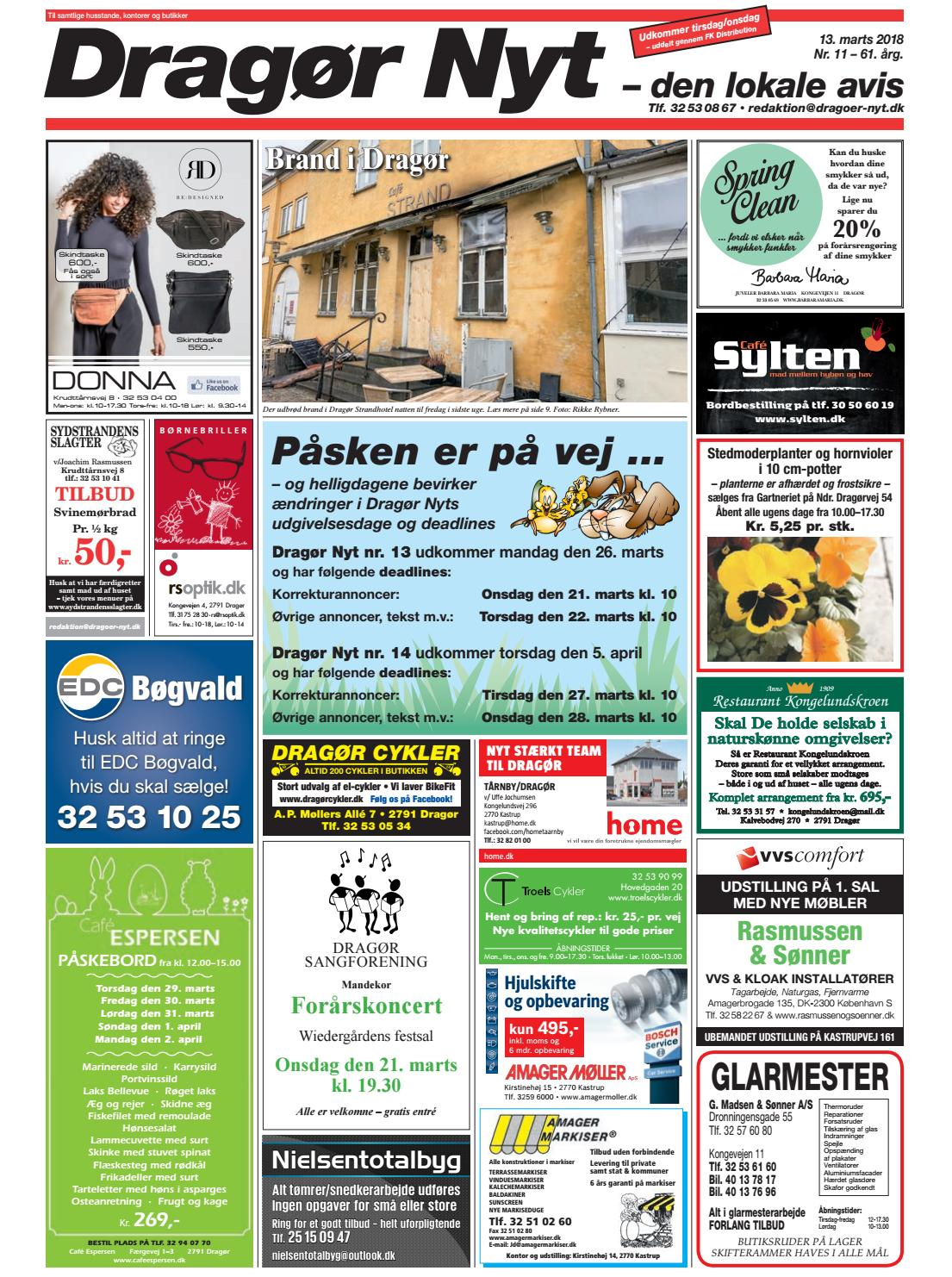 Picture of: Dragor Nyt Nr 11 2018 By Starco Grafisk Issuu