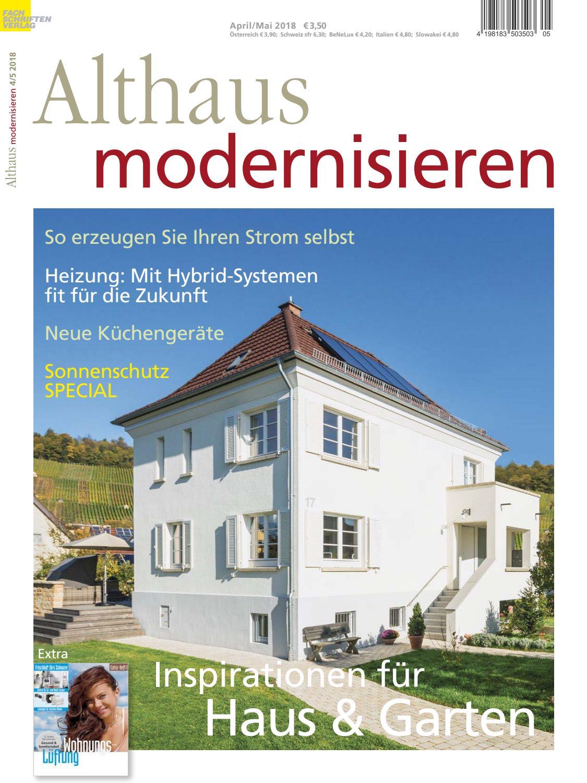 Althaus Modernisieren 4/5 2018 By Fachschriften Verlag   Issuu