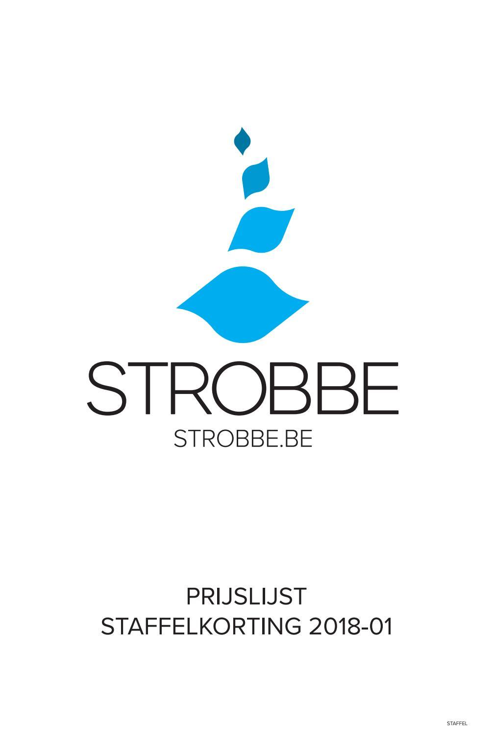 f009e666285 Prijslijst staffels 2018 01 by Drukkerij Strobbe bvba - issuu