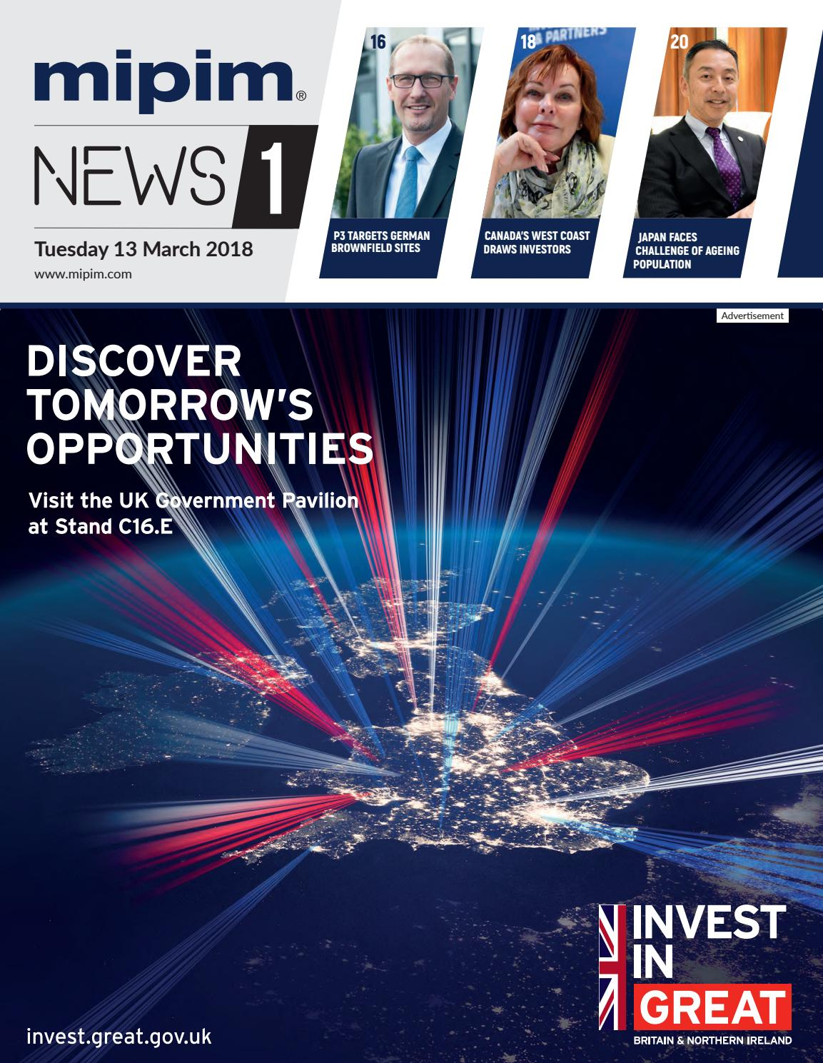 Mipim 2018 news 1 by REED MIDEM REAL ESTATE SHOWS - issuu 4a82d3067