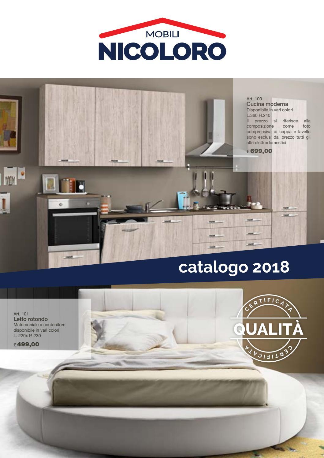 catalogo nicoloro mobili 2018 by nicoloro issuu