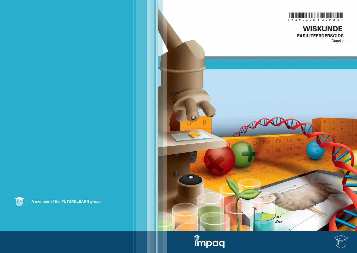 Gr 7 wiskunde fasiliteerdersgids by Impaq - issuu