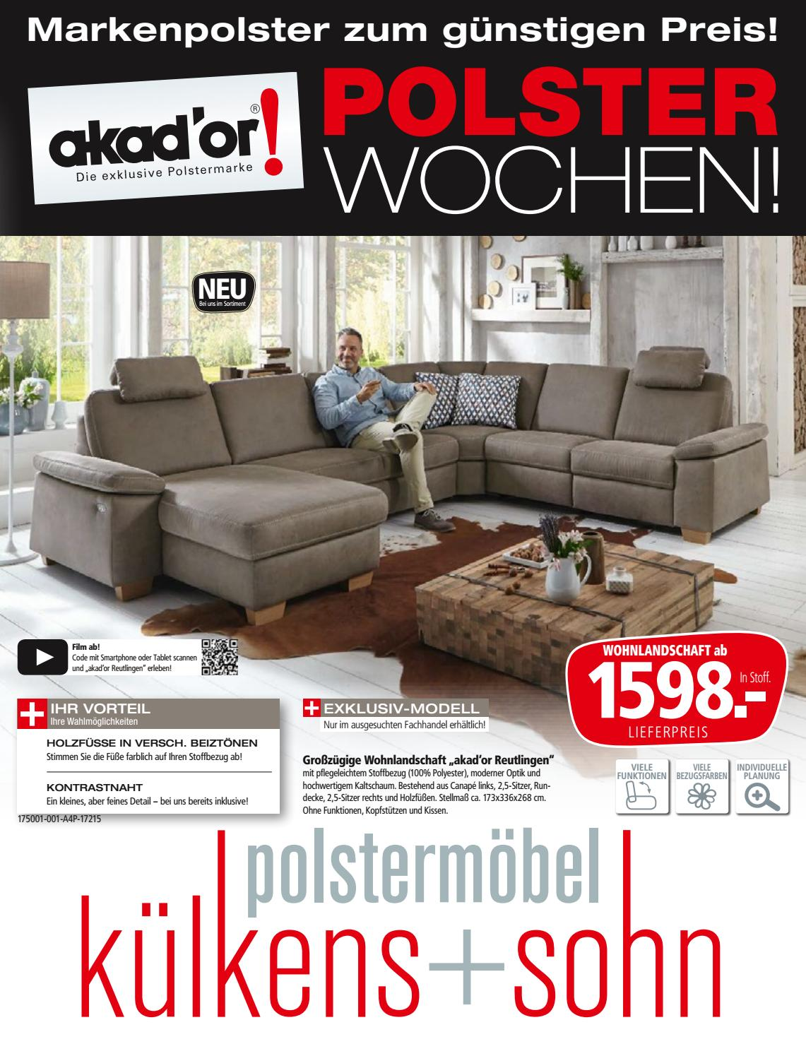 kuelkens sohn markenpolster akador by perspektive werbeagentur issuu. Black Bedroom Furniture Sets. Home Design Ideas