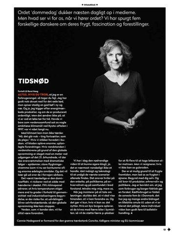 Page 13 of Connie Hedegaard: Vi er i tidsnød