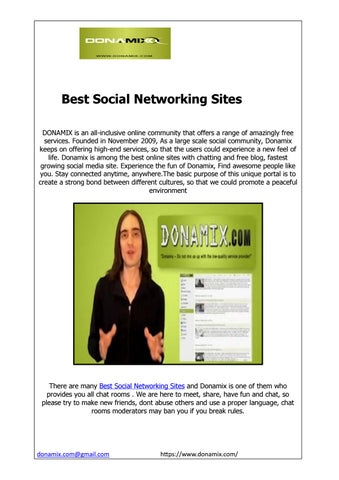 Best social chat sites