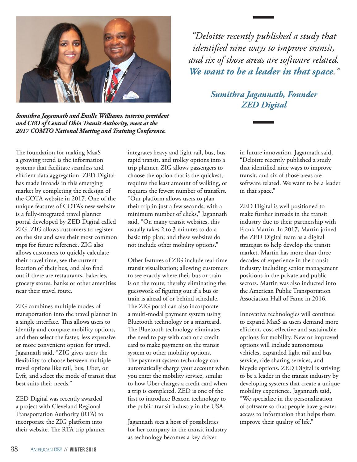 American DBE Magazine - Special NMAAHC Issue by American DBE