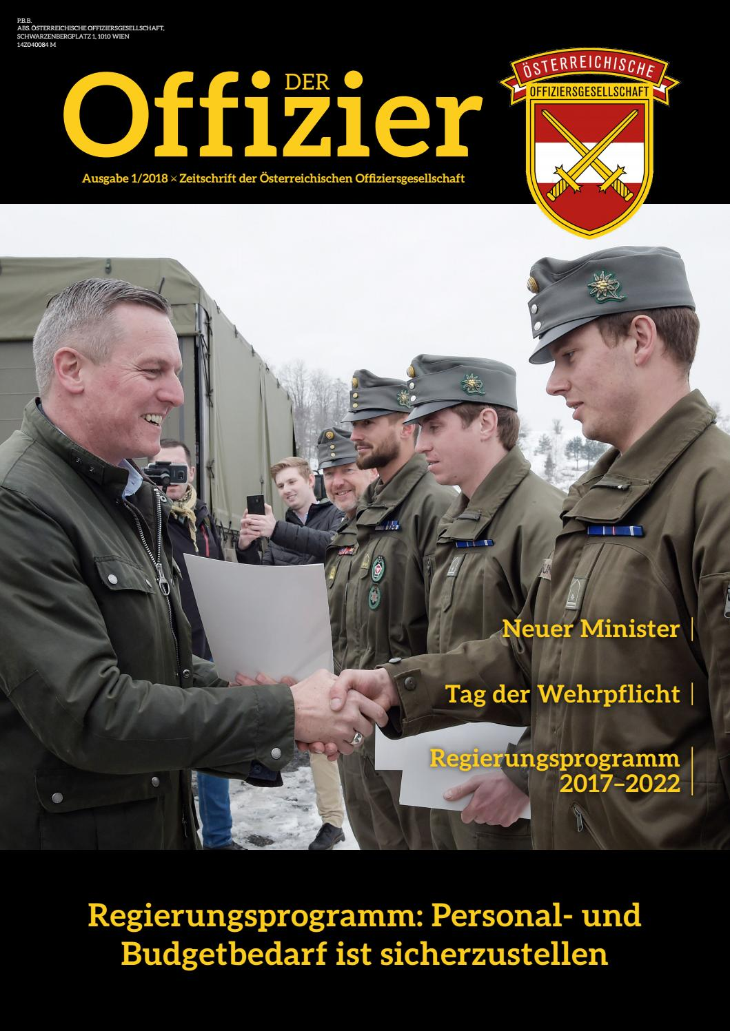 Der Offizier (März 2018) by TARGET GROUP Publishing GmbH - issuu