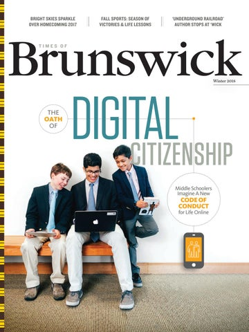 Times Of Brunswick Winter 2018 By Brunswick School Issuu