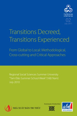 foto de Transitions Decreed, Transitions Experienced by Agence Française ...