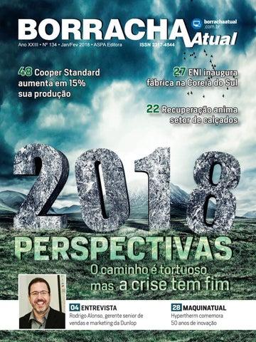 e82687c23b06d borrachaatual .com.br Ano XXIII • Nº 134 • Jan Fev 2018 • ASPA Editora