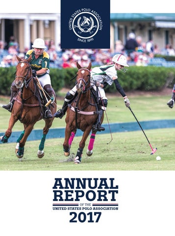 2017 USPA Annual Report by United States Polo Association