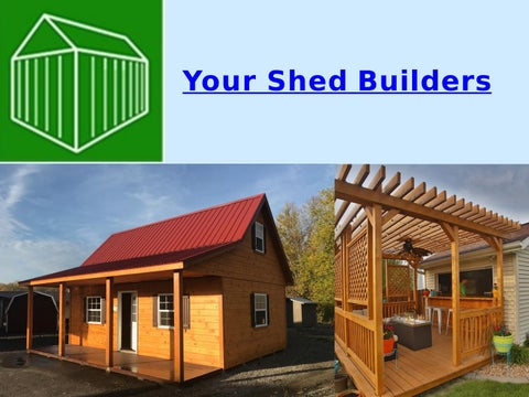 Charmant Page 1. Your Shed Builders
