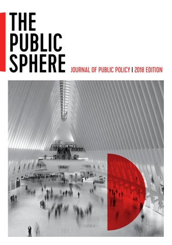 The public sphere journal 2018 edition by the public sphere issuu page 1 fandeluxe Gallery