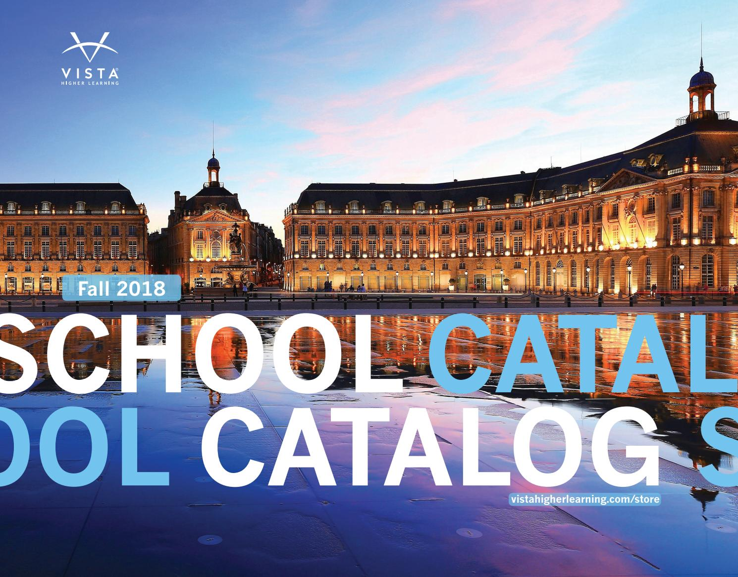 2018 school catalog public1 by vista higher learning issuu fandeluxe Images