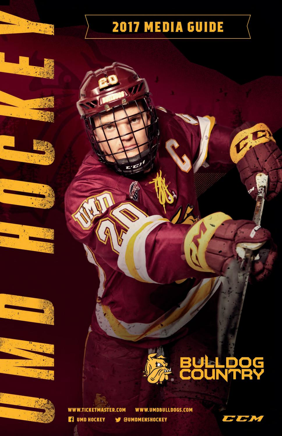 umd bulldog hockey tickets 2017 18 umd men s hockey media guide by umd bulldogs issuu 7203
