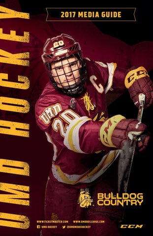 2017-18 UMD Men s Hockey Media Guide by UMD Bulldogs - issuu c32c573e2