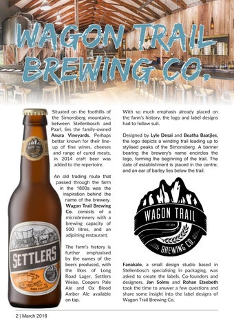 Page 2 of Wagon Trail Brewing Co.