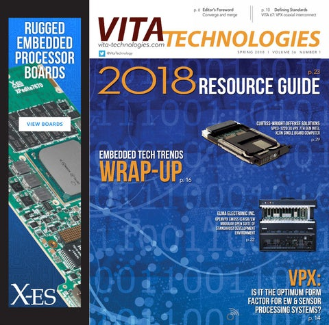 VITA Technologies Spring 2018 with Resource Guide by