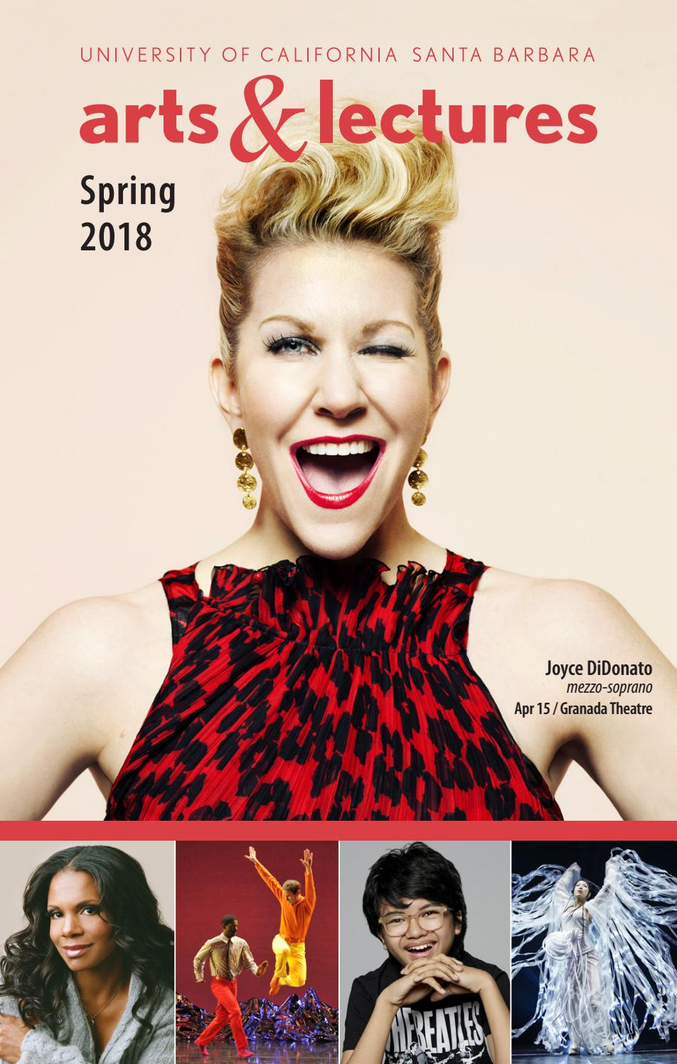 Ucsb Calendar.Ucsb Arts Lectures Spring Calendar 2018 By Ucsb Arts Lectures