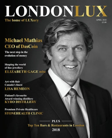 Lux London >> London Lux Magazine April 2018 2 By London Lux Issuu