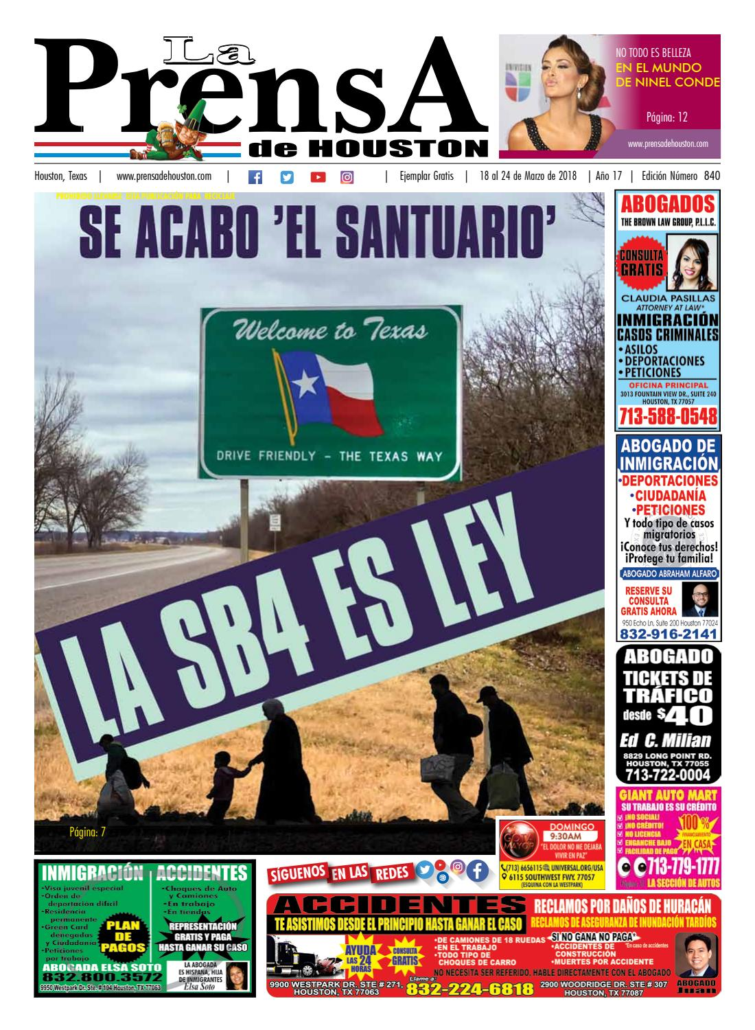 Edicion840 by La Prensa de Houston - issuu