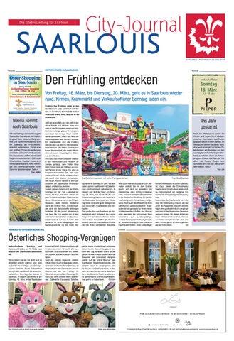 City Journal Saarlouis 14 03 2018 By Saarbrucker Verlagsservice Gmbh