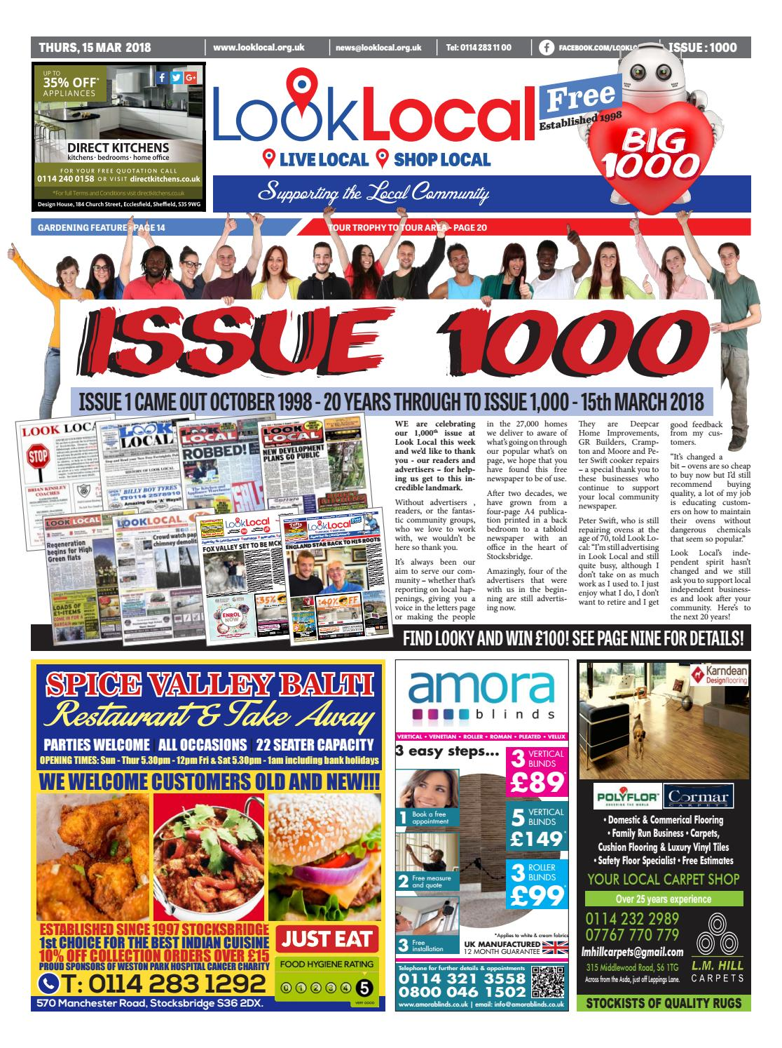 808c763f5d Issue 1000 Thursday 15 March 2018 by Look Local Newspaper - issuu