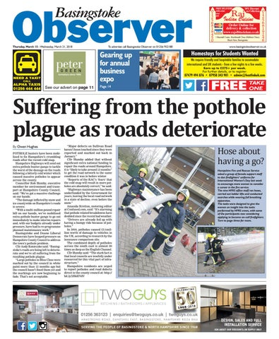e26c7c58c3 15 march 2018 basingstoke observer by Taylor Newspapers - issuu