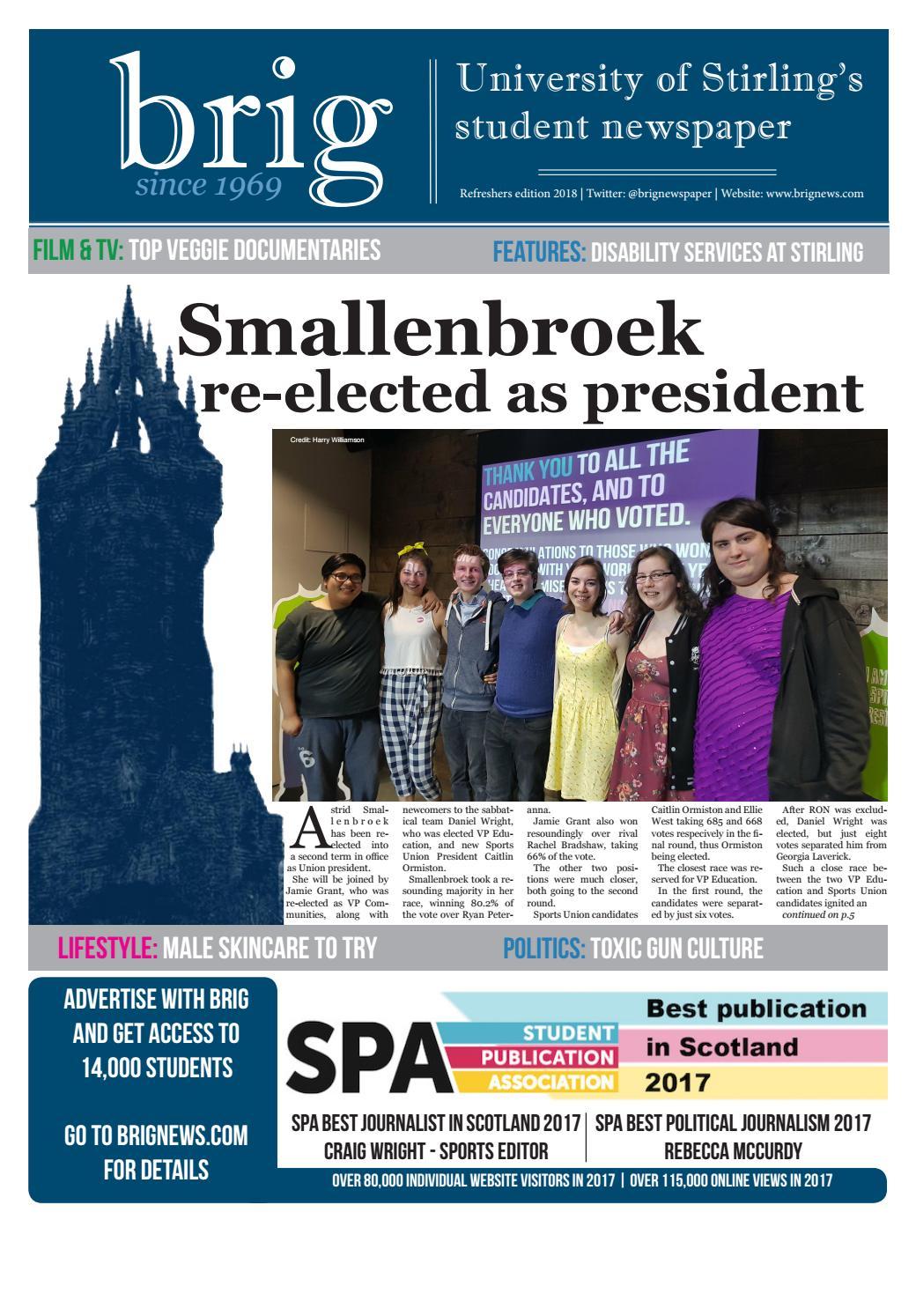 929053e2e7e6 March 2018 - Union elections special by Brig Newspaper - issuu