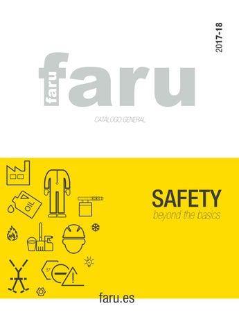 Faru es una empresa líder en el sector de la protección laboral con más de  50 años fabricando y distribuyendo Equipos de Protección Individual y  Colectiva ... 383841db4d27