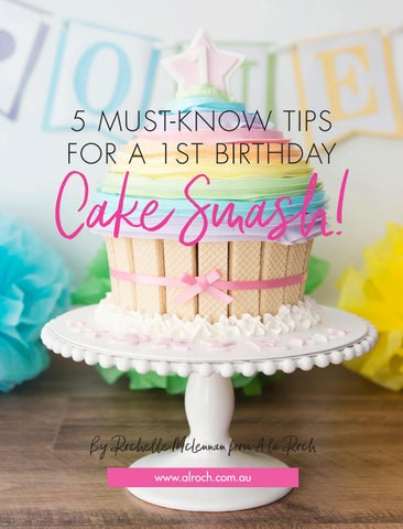 Page 54 of 5 Must Know Tips for a 1st Birthday Cake Smash!