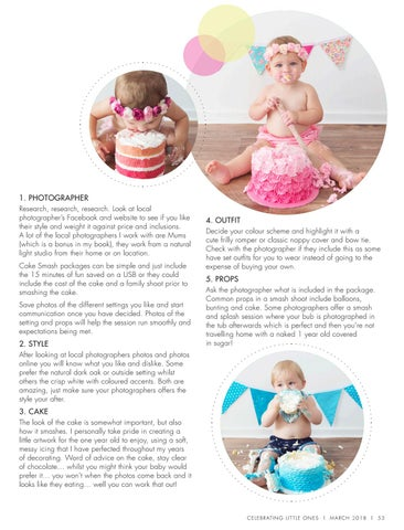 Page 55 of 5 Must Know Tips for a 1st Birthday Cake Smash!